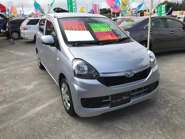 沖縄県の中古車ならミライース L SA インパネシフト Bluetooth機能 キーレス ABS