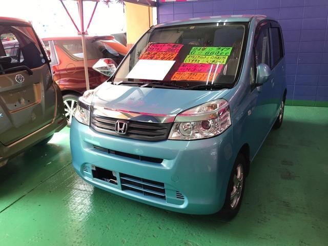 沖縄の中古車 ホンダ ライフ 車両価格 54万円 リ済込 2012(平成24)年 8.8万km ライトブルー