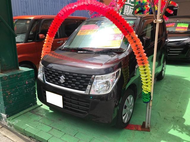 沖縄県の中古車ならワゴンR FX 純正ナビ TV CD ドライブレコーダー ベンチシート シートヒーター キーレス ABS インパネシフト アイドリングストップ