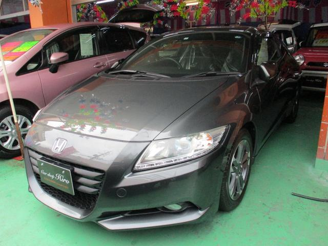 沖縄の中古車 ホンダ CR-Z 車両価格 109万円 リ済込 2012(平成24)年 6.0万km ガンM