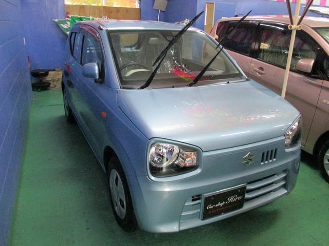 沖縄の中古車 スズキ アルト 車両価格 54万円 リ済込 2015(平成27)年 6.4万km ライトブルー