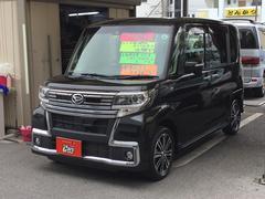 沖縄の中古車 ダイハツ タント 車両価格 142万円 リ済別 平成28年 3.5万K ブラック