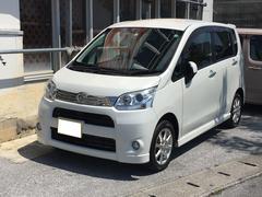 沖縄の中古車 ダイハツ ムーヴ 車両価格 49万円 リ済別 平成23年 6.4万K パールホワイト
