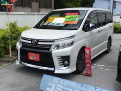 沖縄の中古車 トヨタ ヴォクシー 車両価格 239万円 リ済別 平成27年 3.8万K パールホワイト