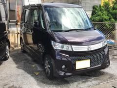 沖縄の中古車 スズキ パレットSW 車両価格 65万円 リ済別 平成22年 6.2万K ダークパープル
