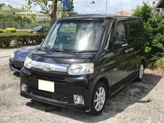 沖縄の中古車 ダイハツ タント 車両価格 85万円 リ済別 平成25年 4.6万K ブラック
