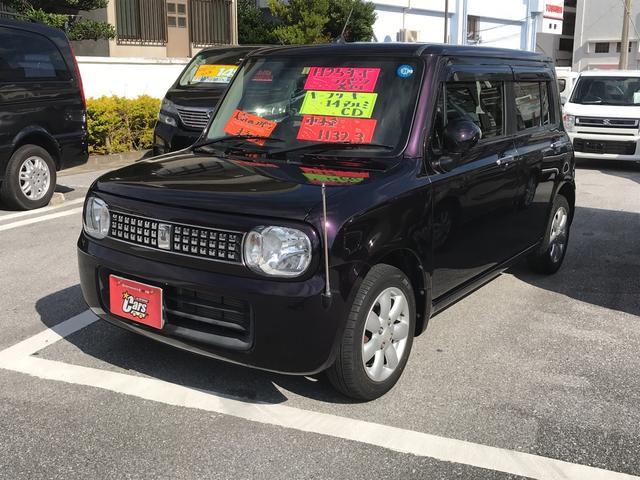 沖縄の中古車 スズキ アルトラパン 車両価格 59万円 リ済別 平成25年 3.4万km ブラウンM