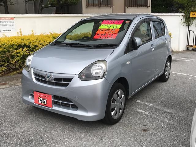 沖縄の中古車 ダイハツ ミライース 車両価格 43万円 リ済別 平成25年 5.1万km シルバー