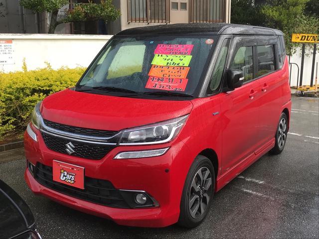 沖縄の中古車 スズキ ソリオバンディット 車両価格 135万円 リ済別 平成28年 3.1万km レッド