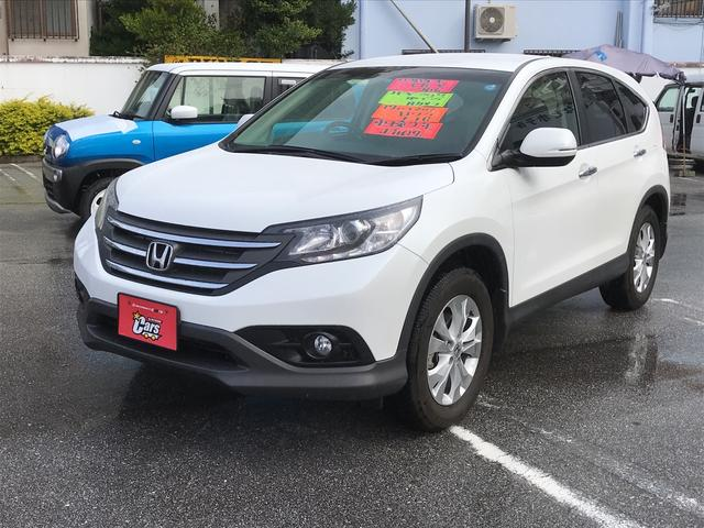 沖縄の中古車 ホンダ CR-V 車両価格 179万円 リ済別 平成28年 0.9万km パールホワイト