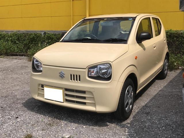 沖縄の中古車 スズキ アルト 車両価格 78万円 リ済別 平成30年 0.7万km ライトイエロー