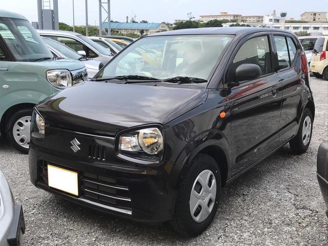 沖縄の中古車 スズキ アルト 車両価格 78万円 リ済別 平成30年 0.5万km DブラウンM
