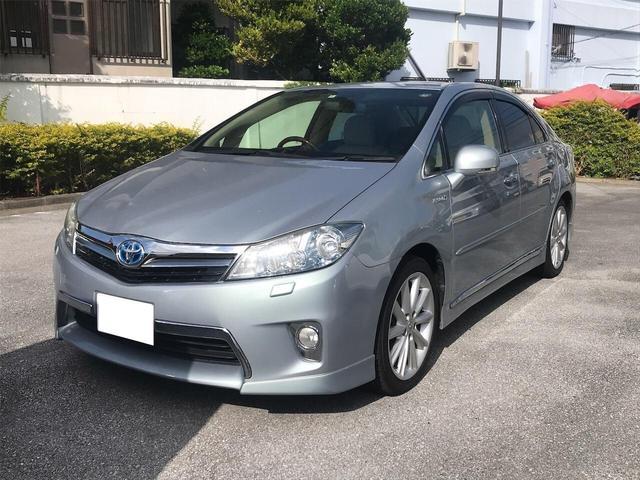 沖縄の中古車 トヨタ SAI 車両価格 119万円 リ済別 2012(平成24)年 5.8万km ライトブルーM