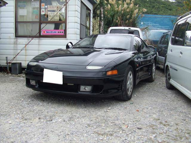 沖縄の中古車 三菱 GTO 車両価格 89万円 リ済別 1991(平成3)年 8.6万km ブラック