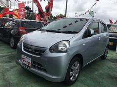 沖縄の中古車 ダイハツ ミライース 車両価格 43万円 リ済込 平成25年 9.3万K ブライトシルバーM