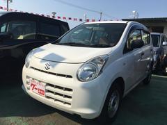 沖縄の中古車 スズキ アルト 車両価格 29万円 リ済込 平成23年 5.3万K スペリアホワイト