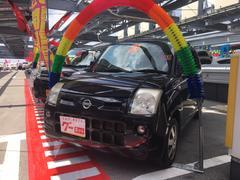 沖縄の中古車 日産 ピノ 車両価格 30万円 リ済込 平成21年 6.3万K ブラック