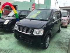 沖縄の中古車 三菱 eKワゴン 車両価格 33万円 リ済込 平成22年 7.8万K ブラック