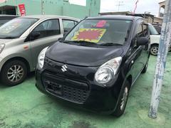 沖縄の中古車 スズキ アルト 車両価格 39万円 リ済込 平成23年 7.9万K ブラック