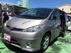 沖縄の中古車 トヨタ エスティマT 車両価格 25万円 リ済込 平成15年 9.6万K グレー