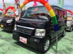沖縄の中古車 ホンダ バモス 車両価格 48万円 リ済込 平成20年 9.7万K ブラック