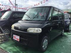 沖縄の中古車 ダイハツ タント 車両価格 28万円 リ済込 平成18年 10.5万K ブラックマイカ