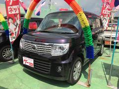 沖縄の中古車 日産 モコ 車両価格 83万円 リ済込 平成27年 1.9万K ミステリアスバイオレットP