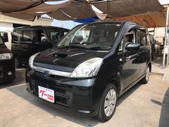 沖縄の中古車 スバル ステラ 車両価格 38万円 リ済込 平成22年 8.3万K オブシディアンブラックパール