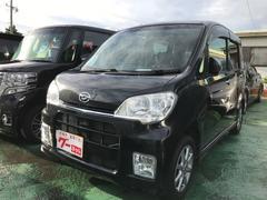 沖縄の中古車 ダイハツ タントエグゼ 車両価格 59万円 リ済込 平成23年 6.6万K ブラック