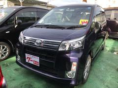 沖縄の中古車 ダイハツ ムーヴ 車両価格 73万円 リ済込 平成26年 3.0万K ダークブルー