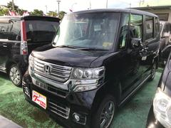 沖縄の中古車 ホンダ N BOXカスタム 車両価格 104万円 リ済込 平成25年 5.4万K パープル