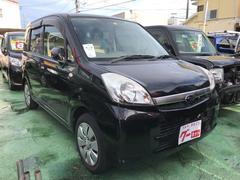 沖縄の中古車 スバル ステラ 車両価格 33万円 リ済込 平成22年 9.4万K ブラック