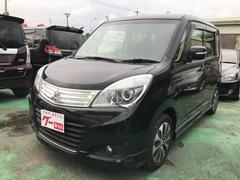 沖縄の中古車 三菱 デリカD:2 車両価格 89万円 リ済込 平成26年 1.5万K ブラックパール
