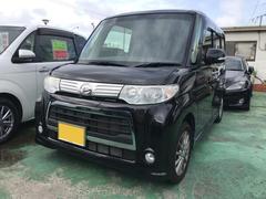 沖縄の中古車 ダイハツ タント 車両価格 79万円 リ済込 平成25年 4.5万K ブラック