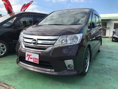 沖縄の中古車 日産 セレナ 車両価格 129万円 リ済込 平成25年 7.7万K パープル