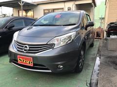 沖縄の中古車 日産 ノート 車両価格 69万円 リ済込 平成25年 6.5万K ダークメタルグレーM