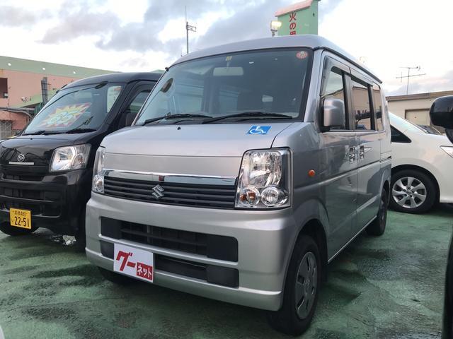 沖縄の中古車 スズキ エブリイワゴン 車両価格 73万円 リ済込 2011(平成23)年 8.9万km シルバー