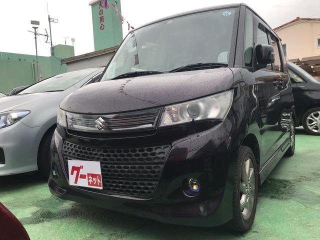 沖縄の中古車 スズキ パレットSW 車両価格 73万円 リ済込 2012(平成24)年 5.5万km パープル
