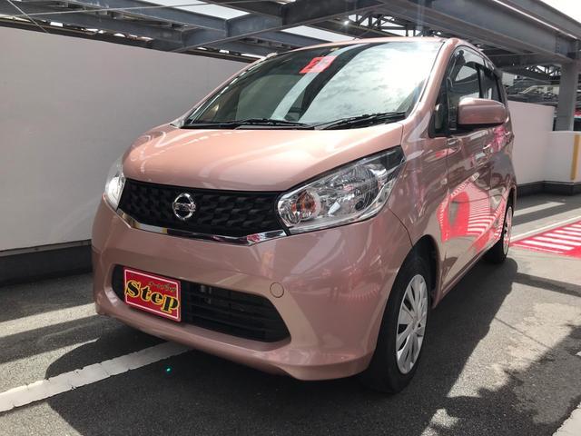 沖縄の中古車 日産 デイズ 車両価格 58万円 リ済込 2013(平成25)年 3.5万km ピンク