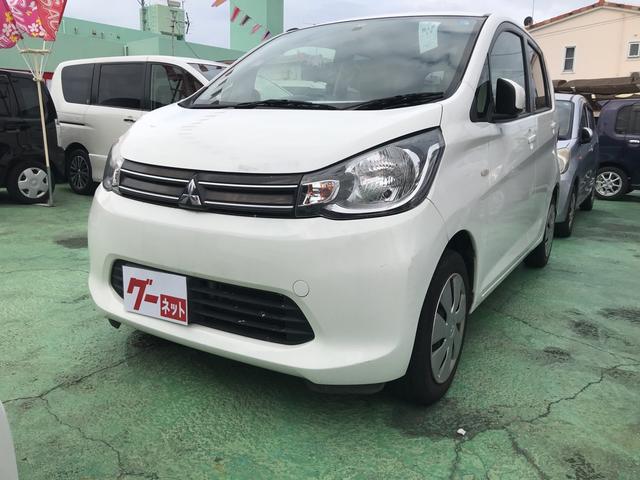 沖縄の中古車 三菱 eKワゴン 車両価格 33万円 リ済込 2014(平成26)年 11.3万km ホワイト