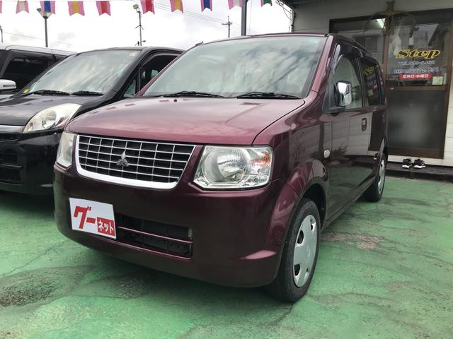 沖縄の中古車 三菱 eKワゴン 車両価格 27万円 リ済込 2010(平成22)年 9.2万km ワイン