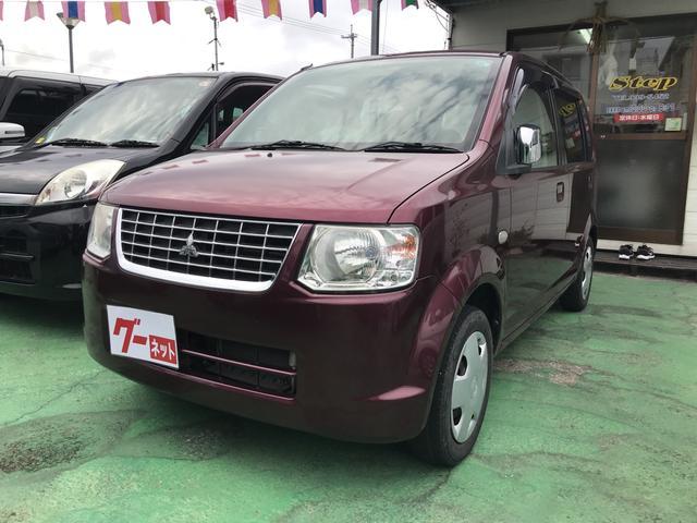 沖縄の中古車 三菱 eKワゴン 車両価格 23万円 リ済込 2010(平成22)年 9.2万km ワイン