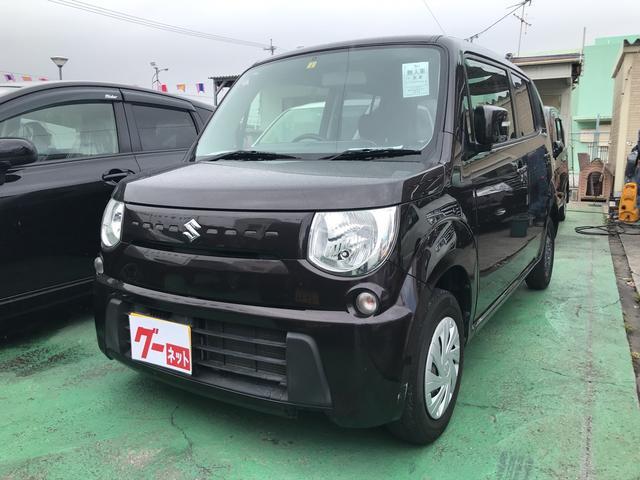 沖縄の中古車 スズキ MRワゴン 車両価格 54万円 リ済込 2012(平成24)年 7.9万km ブラウン