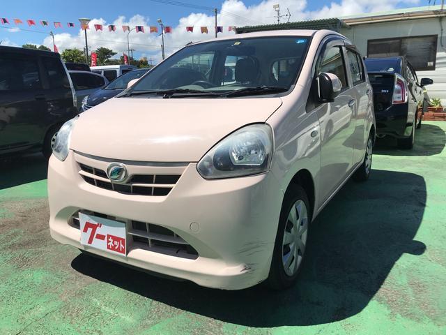 沖縄の中古車 ダイハツ ミライース 車両価格 43万円 リ済込 2012(平成24)年 4.3万km シェルローズ