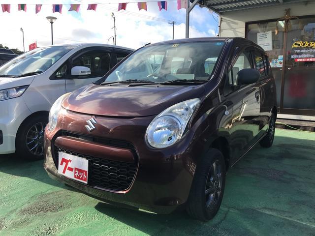 沖縄の中古車 スズキ アルト 車両価格 33万円 リ済込 2010(平成22)年 1.4万km ブラウン