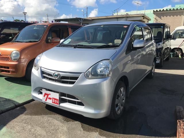 沖縄の中古車 ダイハツ ミライース 車両価格 43万円 リ済込 2012(平成24)年 4.2万km シルバー