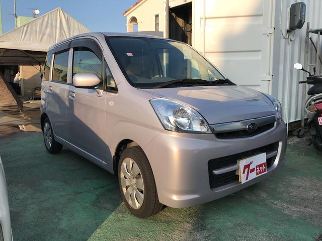 沖縄の中古車 スバル ステラ 車両価格 33万円 リ済込 2011(平成23)年 5.3万km シルバー