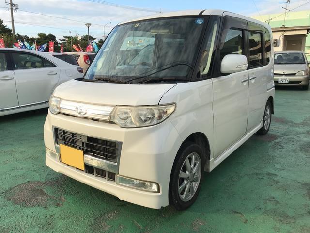 沖縄の中古車 ダイハツ タント 車両価格 39万円 リ済込 2009(平成21)年 8.3万km パール