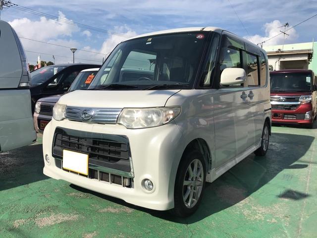 沖縄県の中古車ならタント カスタムX パワースライドドア スマートキー