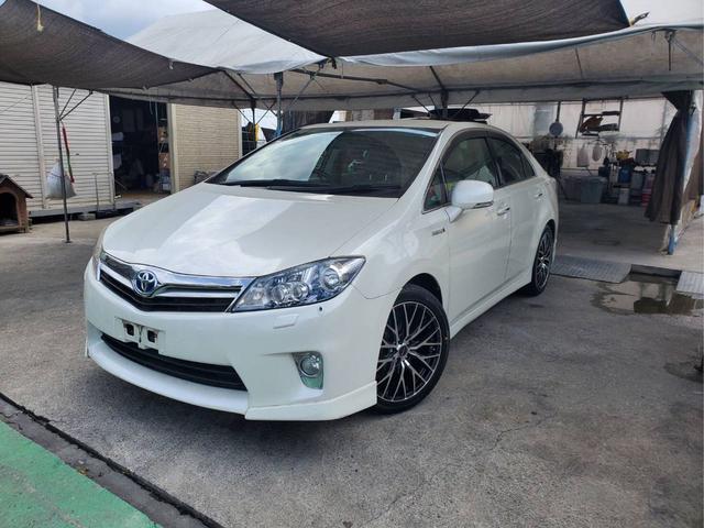 沖縄県の中古車ならSAI S LEDエディション ワンオーナー 社外アルミ 純正ナビ